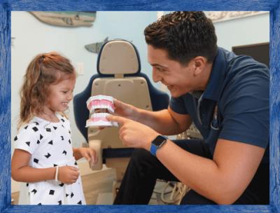 Dr. Izzy talking about teeth - Izzy's Kidz Dentistry